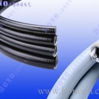 平包塑镀锌钢金属软管 平滑包塑不锈钢软管 带棉线镀锌钢波纹管