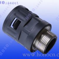 金属螺纹尼龙快速软管直接头 金属螺纹直插式塑料软管接头
