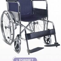 福建厂家 普通钢质轮椅 舒适靠背残疾人老人轮椅FS809F7