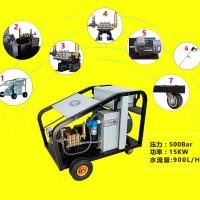 高压清洗机可用于管道疏通清洗