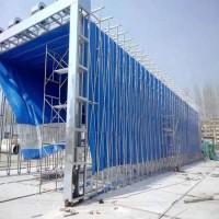 钢结构喷涂专用移动伸缩喷漆房 使用方便厂家生产